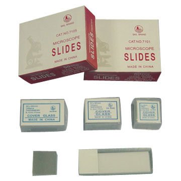 microscope slides & Cover glass
