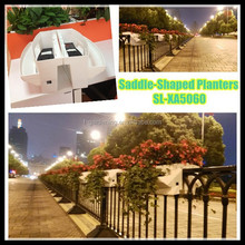 Road and Street planter vertical garden system SL-XA5060 plastic planter