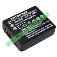 3.7V 1000mAh Rechargeable Camera Batteries for Panasonic CGA-S007E with Retail Package