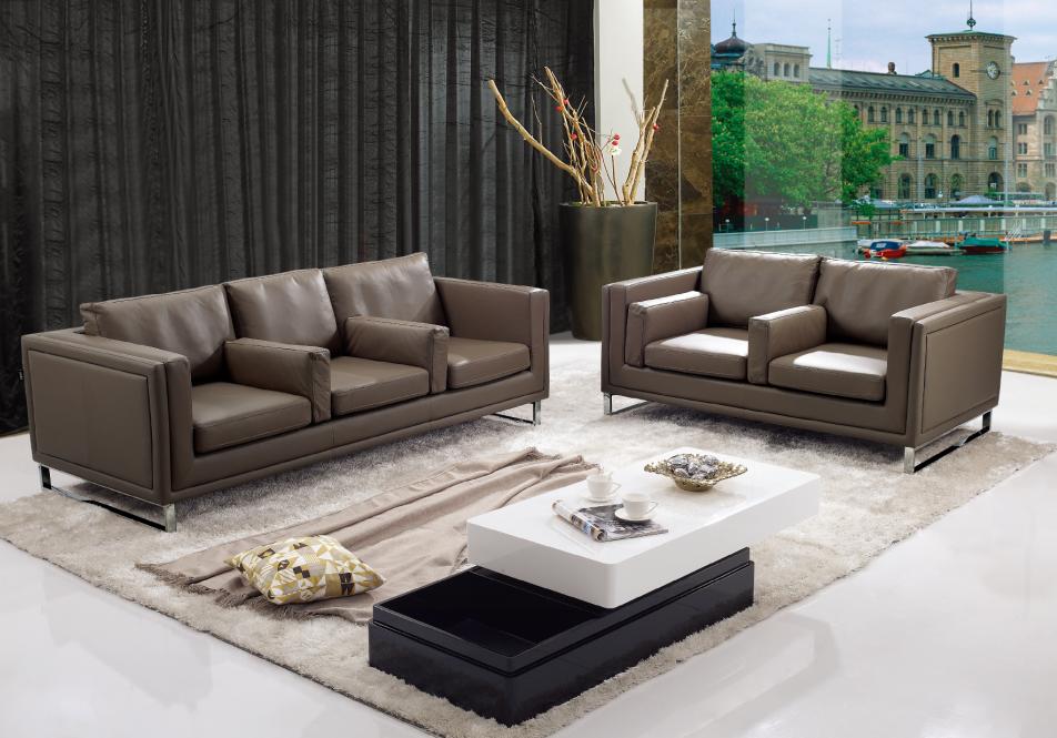 2015 European Fashion Living Room Furniture Sectional Sofa Brown Leather Sofa Buy Leather Sofa