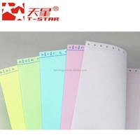 computer continuous paper form paper