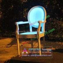 led luminous decorative event lounge chair lighting decoration