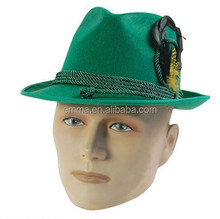 Green Fashion Accessories Beer Bavarian And Oktoberfest Hats HT7173