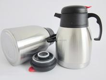Stainless Steel Turkish Dallah Arabic Coffee Pot with 1.5L ,1.8L,2.0L,