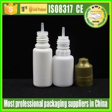15ml Bobacco Cigarette Oil Dropper Bottle , Nicotine Solution Bottles With Childproof Cap
