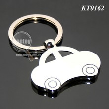Metal Car Shaped Keychain