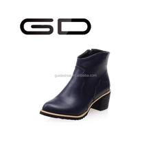 GD Hot Stylish Merino Winter Snow sheepskin boot lady