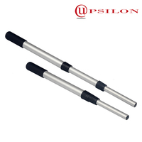 Anodized metal broom stick for cleaning tools