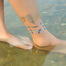 Gold, silver,black,blue color temporar ywholesale tattoo supply(in stock)