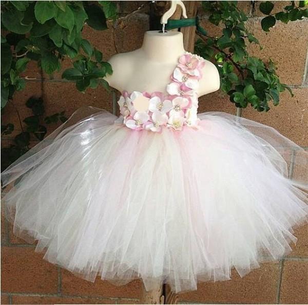 Aliexpress.com: Comprar Mullido rosado vestido de niño del ...