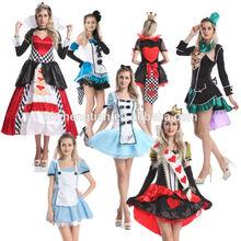 J69 Ladies Mad Hatter Fancy Dress Up Tea Party Alice In Wonderland Hens Costume 558