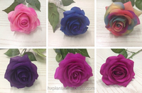 Artificial flowers PU high quality artificial flower ROSE artificial flowers