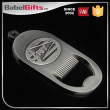 Factory direct sale custom metal wall mounted bottle openers
