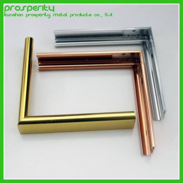 Aluminum Metal Suppliers : Wholesale china supplier metal aluminum photo frame