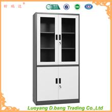 With glass door steel filing cabinet office furniture or school furniture