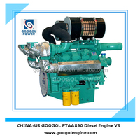 Small Diesel Engine 60Hz Air Cooled V8 4 Stroke Engine for Sale