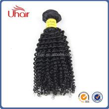 Superior quality 100% brazilian virgin human hair products kinky curly clip in hair for hair vsalon