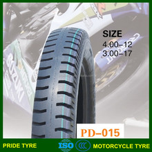 china motorcycle tire manufacturer, 4.00-12 tire for motorcycle