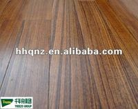 Durable Engineered Flat Burma Teak Wood Flooring