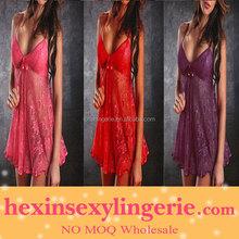 Wholesale mix color woman sexy big breast lingerie