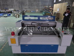 Factory price co2 laser cutting machine metal and nonmetal laser cutter LXJ1325-H-150W