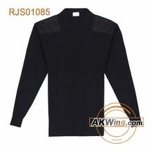 Akwing lana / poliéster militar suéteres Pullover RJS01085