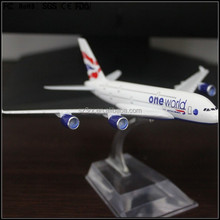 custom made 1/100 British Airways-A380 resin model,1/100 resin A380 airbus model,A380 airbus resin plane model