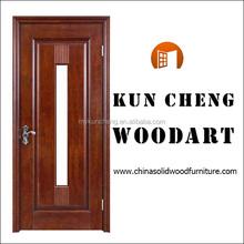 สไตล์ไก่งวงไม้ราคาถูกของแข็งระหว่างประตูไม้ประตูไม้