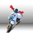 1000 w duas rodas Scooter elétrico fornecedor