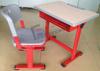 Modern Wooden Adjustable School Desk/ Single School Furniture Desk Sets/ Student Desk and Chair
