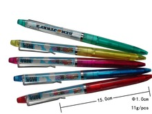 Oem PVC 3d floater pen liquid floater ball pen liquid pen