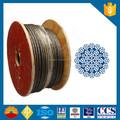 11ミリメートル35wxk7クレーン用ワイヤロープ