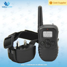 Rechargeable Waterproof 300m remote LCD LED dog beeper collar
