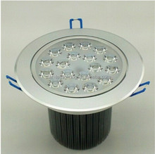 White/warm white/cool white COB LED Downlight 20W