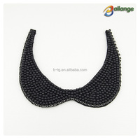 2015 fashion Ladies detachable beautiful beaded neck collar