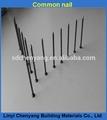 prego comum e tipo de material de baixo carbono 2 polegadas prego de ferro comum com pata lisa