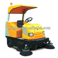 vacuum mechanical street sweeper, electric floor sweeper/floor sweeping machine/power broom sweeper