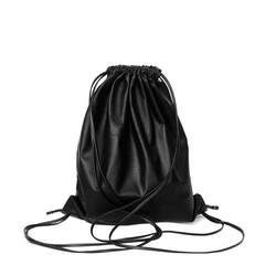 wholesale soft pu leather drawstring Backpack bag