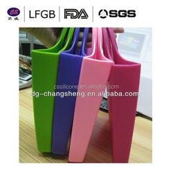 Most popular new arrival fashionable colorful silicone key bag/silicone purse/silicone coin wallet