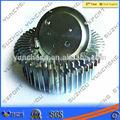aleación de aluminio de hardware 6063 disipador de calor para la luz led y otros productos electrónicos