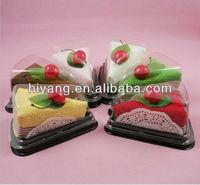 Custom transparent plastic cupcake boxes