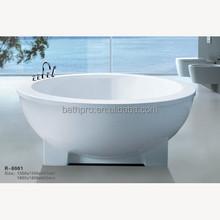 Euro style #304stainless steel four leg freestanding one-piece bathtubs (R8001)