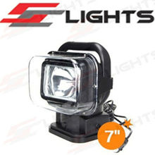 HID CONTROL SEARCH LIGHT WIIIIRELESS REMOTE CONTROL HID XENON SEARCH LIGHTS BLACK