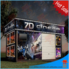 2015 Newest business truck mobile 7d cinema opportunity 7d mini cinema