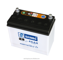 maintenance free 54579-din45 12V45AH car battery/auto lead acid car battery high quality