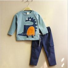 Z52348B Wholesale Christmas little boys boutique clothing sets fall winter kids boutique clothing