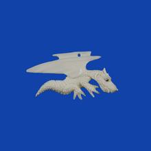Porcelain Promotional Hanging Gift Ceramic Flying Dragon Pendant