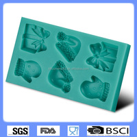 silicone cake decorating toold fondant mold chocolate molds gloves combine Cake molds CD-F331