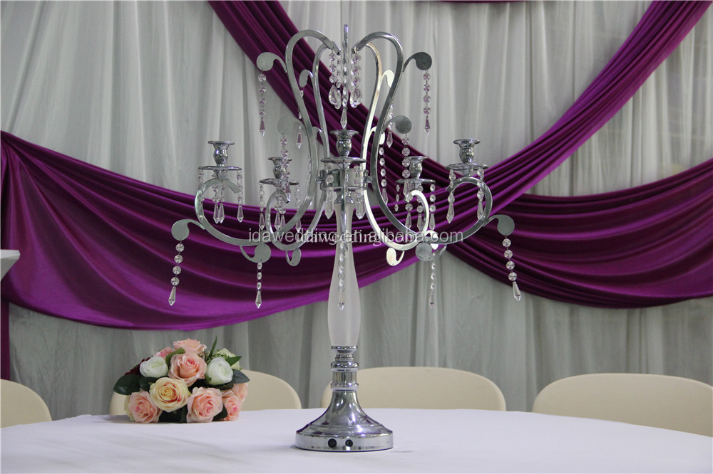 Wedding cristal candelabros/centros de mesa candelabros wedding ...