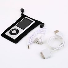 Mp4 Digital Player Manual 4GB USB MP4 Player With Camera Hard Disk Free Space 100MB at least New
